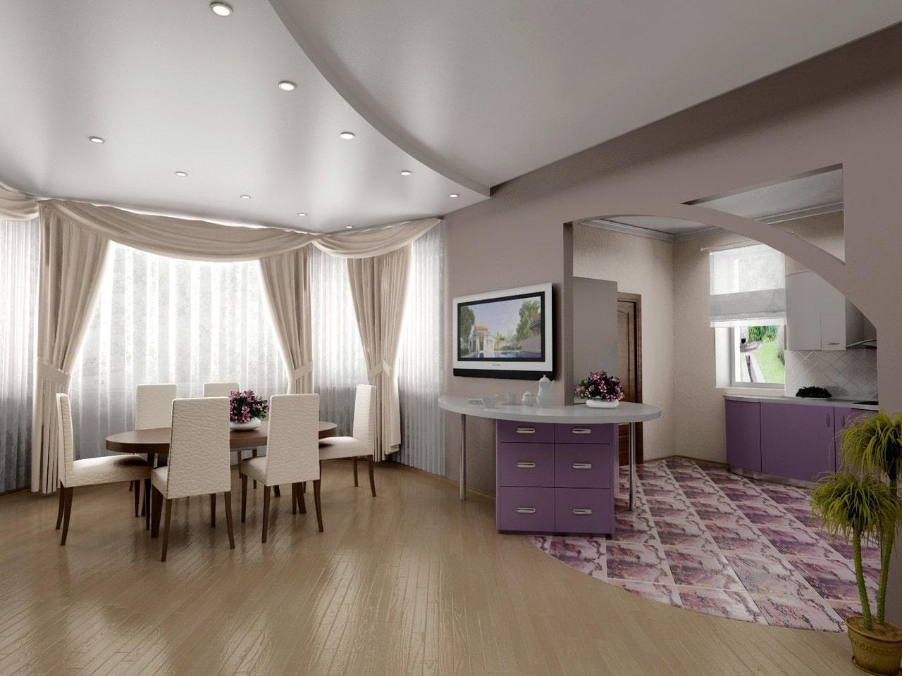 бумажные фото квартир с натяжными потолками москва юности